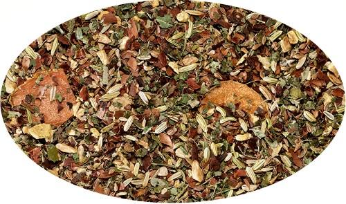 Kräuterteemischung Kurkuma Gold Kurkuma-Kakao-Note aromatisiert - 500g