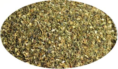 Chilli Jalapeno grün geschrotet - 1kg