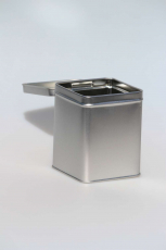Gewürzdose  / Teedose Quadrat leer  - 1Stk