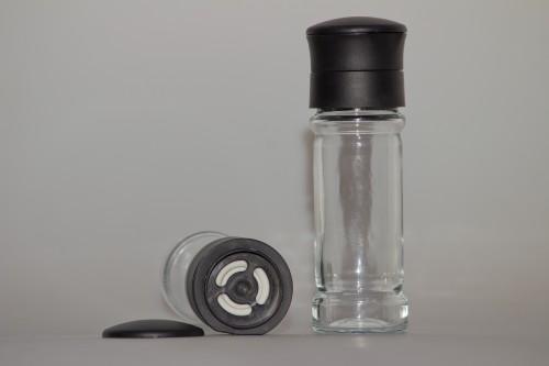 Gewürzmühle  Glas - leer - 1Stk