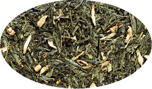 Grüner Tee Sencha Orange aromatisiert - 250g
