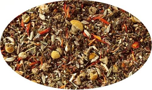 BIO - Grün Rotb./Honeybushteemg. Entspannungszeittee, ohne Aroma - 250g
