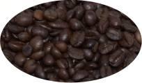 Pflaume/Zimt aromatisierte Kaffeebohnen - 100g