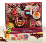 Tee-Adventskalender sortiert mit 24 Premium-Aufgussbeuteln