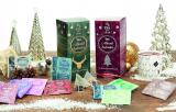 Tee-Adventskalender Goldhirsch sortiert (24 x Pyramide im Sachet) - 80g
