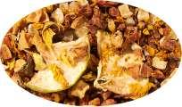 Früchtetee Türk.Apfeltee Ananas-Pepp Ananas-Creme-Note aromatisiert - 500g
