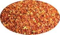 Chilli Jalapeno Chipotle rot geschrotet mit Saat - 100g