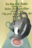 Filterclip Teekanne Edelstahl, Filterclip für Teefilter