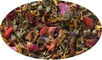 Kräuterteemischung Erdbeer/ Minze aromatisiert - 500g