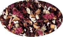 Früchteteemischung Fang mich doch, Himbeer-Granatapfel Note aromatisiert - 100g