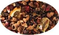 Früchteteemischung Feuerzangenbowle Rotwein-Orange-Zimt-Note aromatisiert - 500g