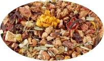Bio - Früchteteemischung Lavendel-Mandarine aromatisiert - 100g