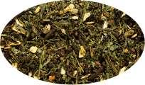 Grüntee Green Chai Kardamom-/Zimt-Note aromatisiert  - 500g