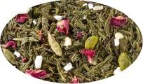 Grünteemischung mit schwarzem Tee Magic Spice Sahne-Kardamom-Pistazien-Note aromatisiert - 1kg
