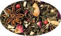 Grünteemischung Sencha Honigkuchen aromatisiert - 500g