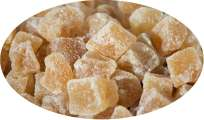 Fidschi Ginger Pieces Sugared Hot-ginger - 500g