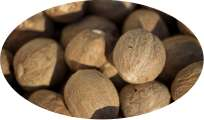 Muskatnüsse / Muskatnuss ganz - 1kg