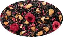 Schwarzteemischungen Himbeer Muffin aromatisiert - 250g