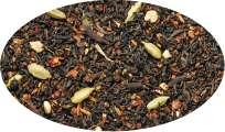 Schwarztee Pu-Erh Chai Zimt-Kardamom-Note aromatisiert - 100g